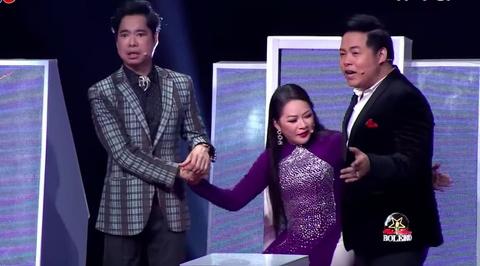 Ngoc Son, Nhu Quynh 'da xoay' can nang cua Quang Le tren truyen hinh hinh anh