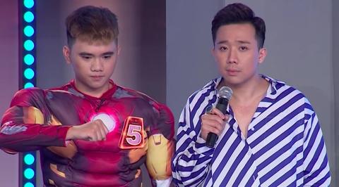 Tran Thanh 'cung hong' khi thi sinh nhac den Tien Dat tai Nguoi bi an hinh anh