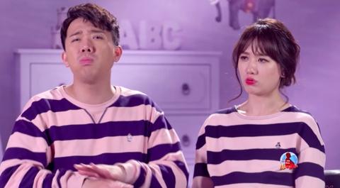 Tran Thanh - Hari Won xuc dong tam su muon co con sinh doi hinh anh