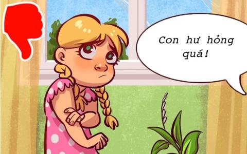7 điều tuyệt đối không làm để tránh gây tổn thương cho trẻ nhỏ