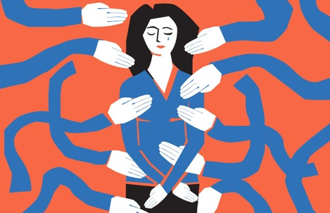 Nạn nhân bị sàm sỡ: Im lặng không phải điều bất thường