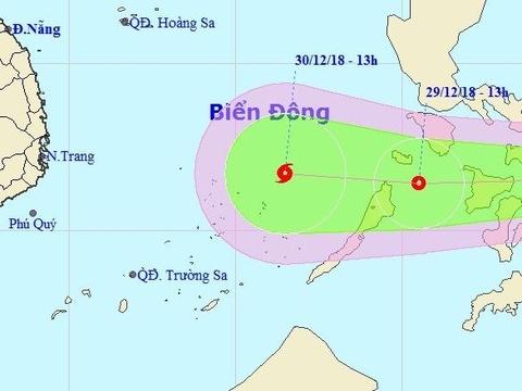 Bien Dong co the don bao dip Tet Duong lich hinh anh