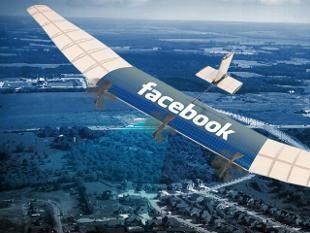 Facebook thu nghiem thanh cong drone phu song Internet toan cau hinh anh
