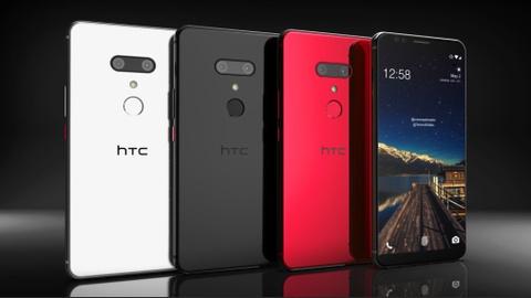 Thiet ke HTC U12 Plus tuyet dep dua tren tin don hinh anh