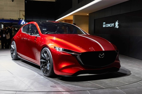 Mazda3 2019 va Mazda6 Wagon tai GMS 2018 hinh anh