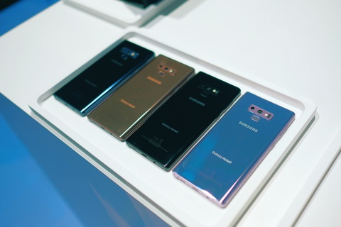 Anh chi tiet Galaxy Note9 vua ra mat: To, sac sao va thong minh hon hinh anh 11