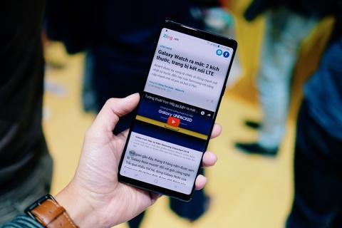 Anh chi tiet Galaxy Note9 vua ra mat: To, sac sao va thong minh hon hinh anh 10
