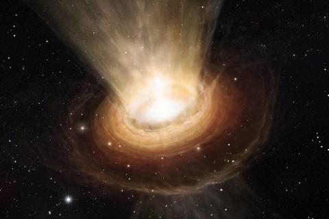 Lần đầu chụp ảnh hố đen có khối lượng lớn hơn Mặt trời 6,5 tỷ lần
