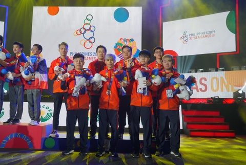 Thai Lan gianh huy chuong vang Lien Quan tai SEA Games 30 hinh anh