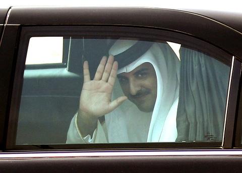Quoc vuong Qatar, nhan vat tam diem trong vu 'tay chay' o Arab hinh anh 3