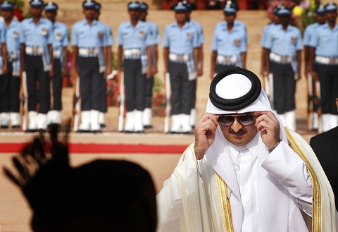 Quoc vuong Qatar, nhan vat tam diem trong vu 'tay chay' o Arab hinh anh 2