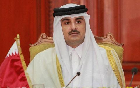 Quoc vuong Qatar, nhan vat tam diem trong vu 'tay chay' o Arab hinh anh