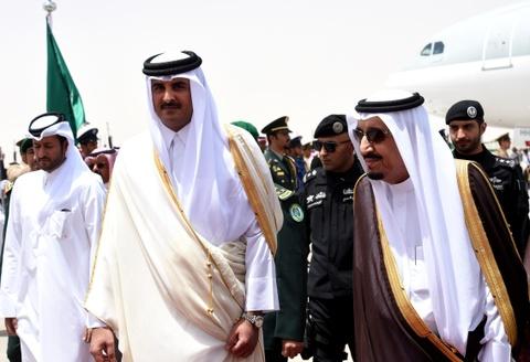 Quoc vuong Qatar, nhan vat tam diem trong vu 'tay chay' o Arab hinh anh 11