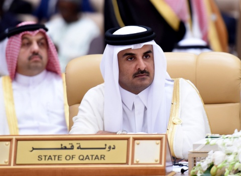 Quoc vuong Qatar, nhan vat tam diem trong vu 'tay chay' o Arab hinh anh 1