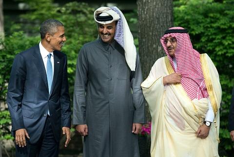 Quoc vuong Qatar, nhan vat tam diem trong vu 'tay chay' o Arab hinh anh 9