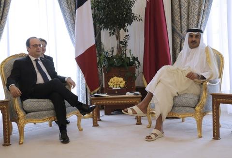 Quoc vuong Qatar, nhan vat tam diem trong vu 'tay chay' o Arab hinh anh 8