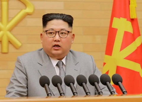 Kim Jong Un xin loi vi khong den tham Han Quoc trong nam nay hinh anh