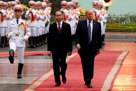 Chuyen cong du lich su cua TT Trump qua 5 nuoc chau A hinh anh 13