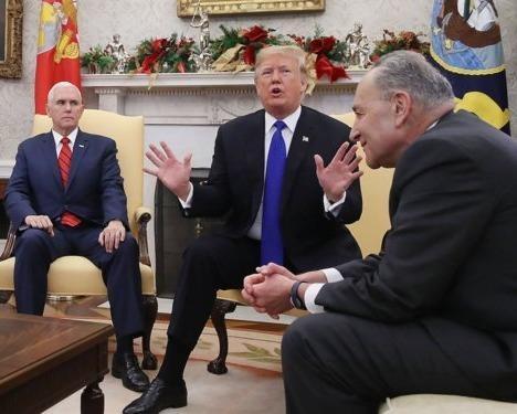 TT Trump bi goi la 'con chon' sau khi noi doa vi buc tuong bien gioi hinh anh