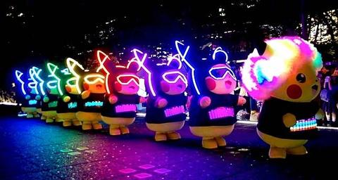 Singapore tổ chức cuộc diễu hành Pikachu đầu tiên ngoài Nhật Bản