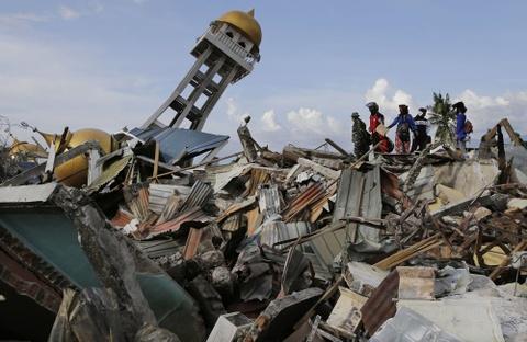 Tham hoa don dap nam 2018, Indonesia chim trong tang thuong hinh anh