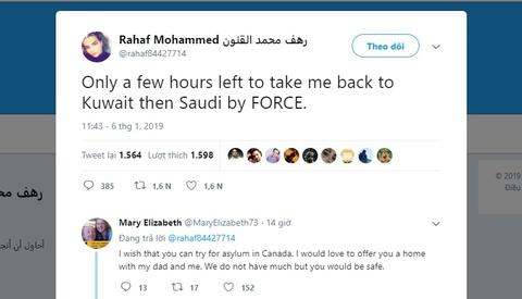 Co gai Saudi Arabia chay tron khoi gia dinh lo so bi giet hai hinh anh 2