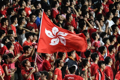 Hong Kong de xuat hinh su hoa toi phi bang quoc ca Trung Quoc hinh anh