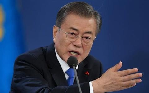 Tong thong Han: Nhat nen co thai do ' khiem ton hon' ve qua khu hinh anh