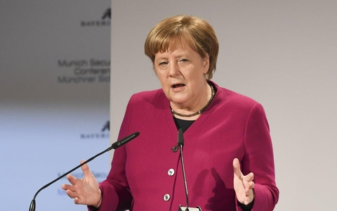 Ba Merkel chi trich kich liet chu nghia biet lap cua My hinh anh