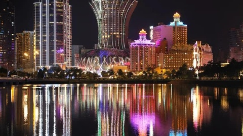 Kể từ khi mở ngành công nghiệp sòng bạc vào năm 2002, Macau chứng kiến thị trường cờ bạc tăng trưởng nhanh và trở thành thị trường lớn nhất thế giới, gấp sáu lần Las Vegas. Ảnh: Nikkei Asian Review.