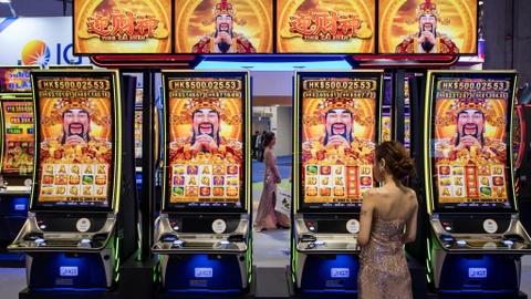 Một triển lãm cờ bạc ở Macau vào tháng 5.Ảnh: Nikkei Asian Review.