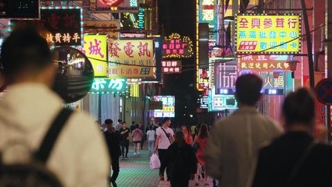 Một con đường ở trung tâm Macau.Ảnh: Nikkei Asian Review.
