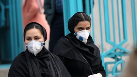 Lo ngai ve dai dich sau khi virus corona lan sang Iran va 3 chau luc hinh anh