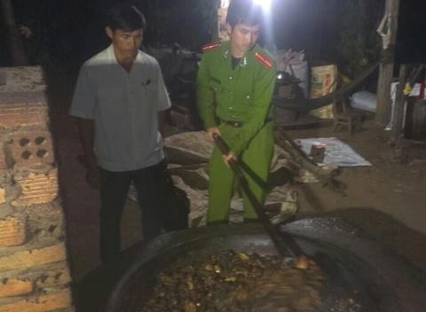 Thu giu 2 tan mo dong vat ban sap thanh dau an hinh anh