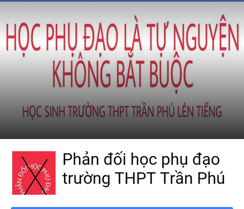 Hoc sinh Dak Lak lap Facebook phan doi hoc them hinh anh