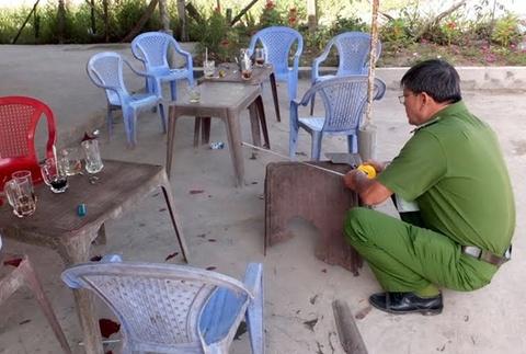 Thanh nien ngao da chem dai uy cong an hinh anh