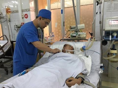 Vu no o Ha Dong: Me nguy kich, con 7 thang tuoi khat sua hinh anh