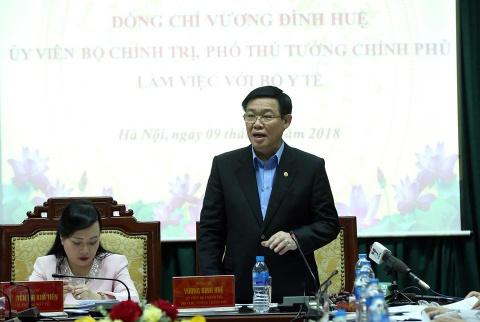 Bo truong Y te: Se tang vien phi trong nam 2018 hinh anh