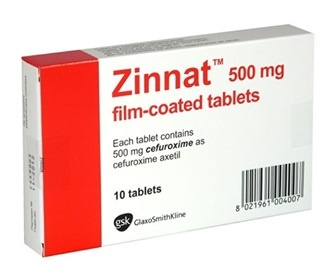 Phat hien thuoc khang sinh Zinnat 500 mg Film Tablet bi lam gia hinh anh