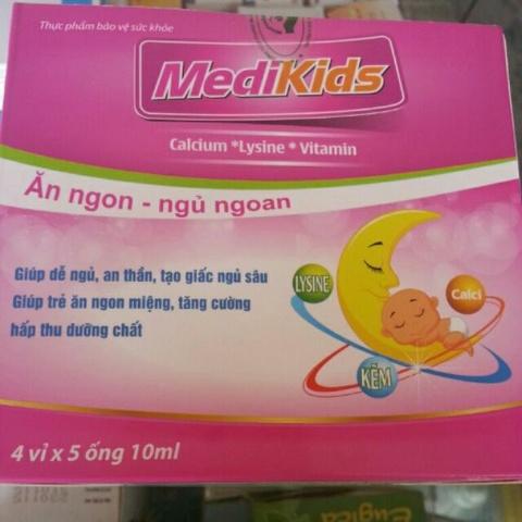 Thu hoi san pham Medikids danh cho tre bieng an hinh anh
