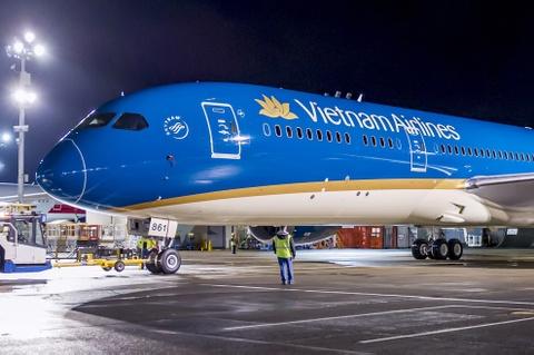 May bay Boeing 787 dau tien cua Vietnam Airlines sap ve VN hinh anh