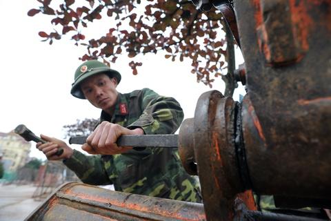 Luc luong cong binh Viet Nam luyen tap hinh anh 11