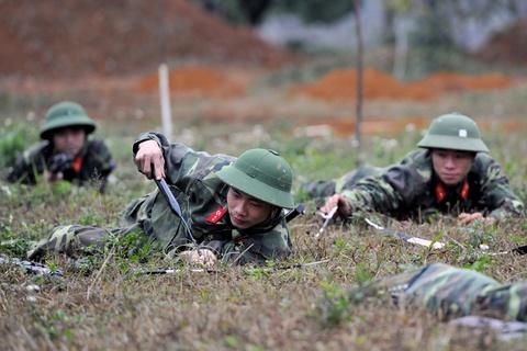Luc luong cong binh Viet Nam luyen tap hinh anh 4