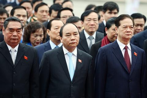 Lanh dao Dang, Nha nuoc vieng lang Chu tich Ho Chi Minh hinh anh 6