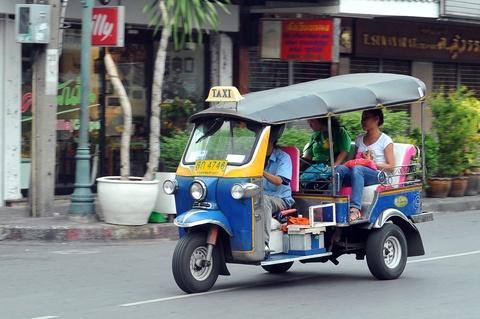 Phuong tien van tai cong cong da dang o Thai Lan hinh anh 14