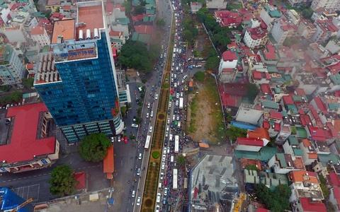 Ket cung giao thong tren tuyen buyt nhanh BRT hinh anh 2