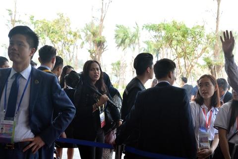 Don Trump va Tap Can Binh, an ninh that chat tai Hoi nghi CEO APEC hinh anh 1