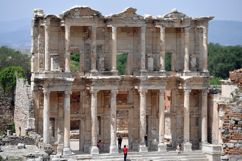 Dong do nat Ephesus - chuyen du hanh nguoc tro ve 3000 nam truoc hinh anh
