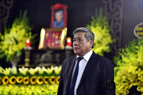 Lanh dao Dang, Nha nuoc va ban be tien biet giao su Phan Huy Le hinh anh 14