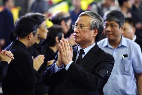 Lanh dao Dang, Nha nuoc va ban be tien biet giao su Phan Huy Le hinh anh 5